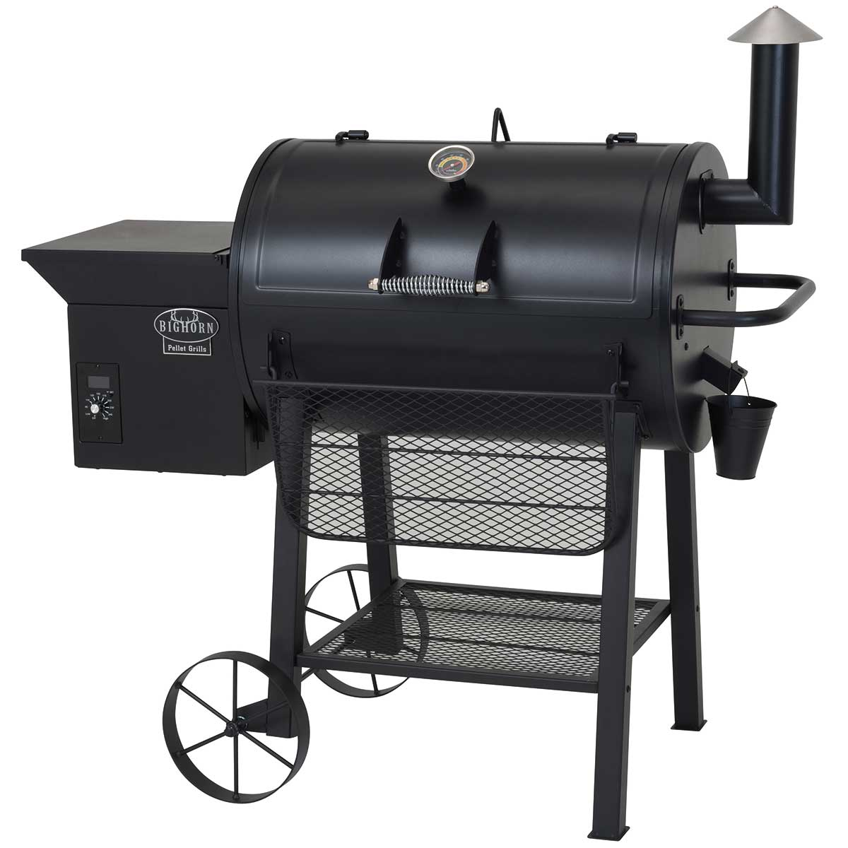 Big Horn Pellet Grill BBQ Featured Image