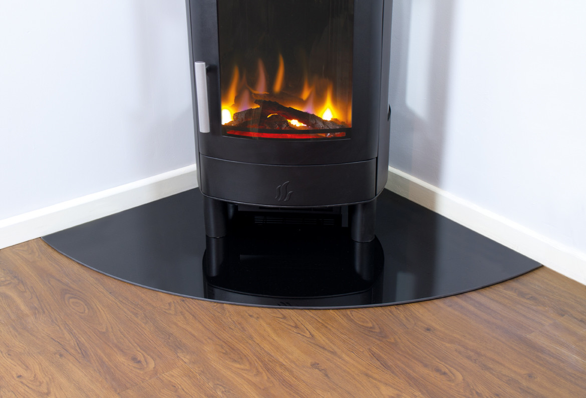 ACR Corner Glass Hearth (6mm) Featured Image
