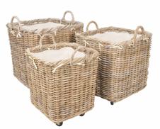 Manor Claridge Rattan Baskets With Wheels Featured Image